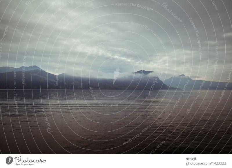 düster Himmel Natur Wasser Wolken dunkel Umwelt Herbst See Wind bedrohlich Unwetter Sturm schlechtes Wetter