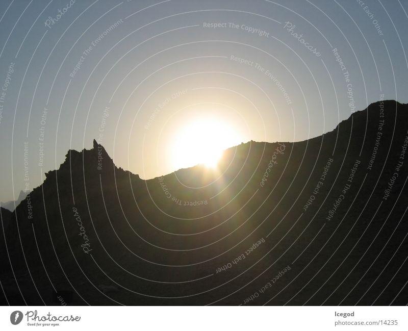 Sunset Sonne Wüste Ägypten