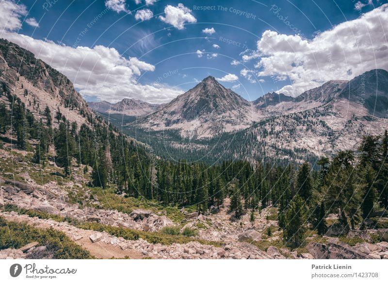 Kings Canyon Himmel Natur Ferien & Urlaub & Reisen Sommer Landschaft Wolken Ferne Wald Berge u. Gebirge Umwelt Freiheit Erde Wetter wandern Beginn Ausflug