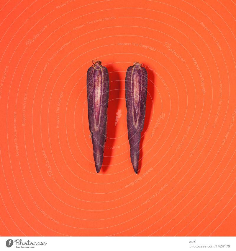 Ur-Möhre Farbe Gesunde Ernährung Essen Gesundheit außergewöhnlich Lebensmittel orange ästhetisch Ernährung einzigartig violett Gemüse lecker Bioprodukte Vegetarische Ernährung Diät