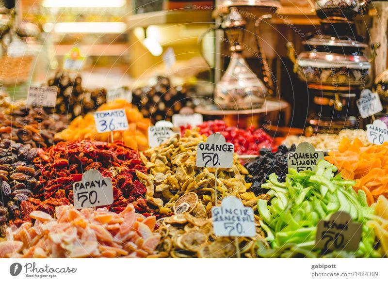 Gewürzbasar I Gesundheit Wellness Leben harmonisch Wohlgefühl Zufriedenheit Sinnesorgane Duft Tourismus Ausflug Ferne Sightseeing Städtereise Istanbul Altstadt