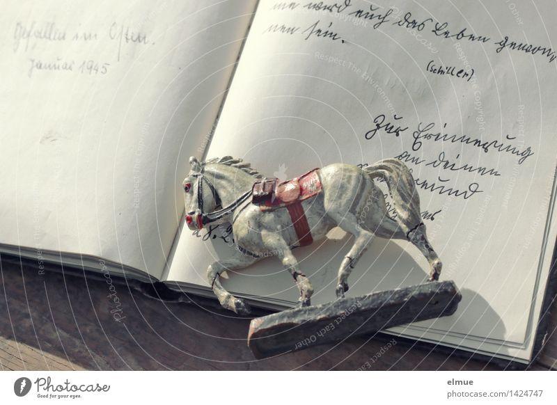 Schulfreunde (2) Spielzeug Poesiealbum alt historisch einzigartig Freundschaft Mitgefühl dankbar Wahrheit Glaube Trauer Tod Schmerz Wut Verbitterung Senior