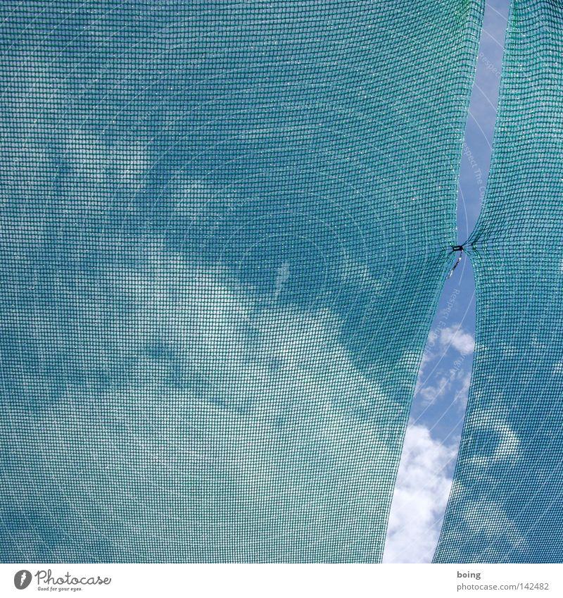 Netz außerhalb Berlins Himmel geschlossen leer Schutz Netz Zusammenhalt Frankreich Riss Angeln Beeren Fischereiwirtschaft Spalte Schwarm Wetterschutz Öffnung entkommen