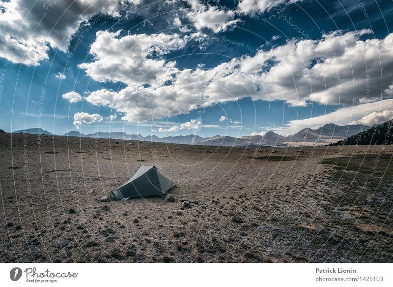 Freiheit Himmel Natur Ferien & Urlaub & Reisen Sommer Erholung Landschaft Wolken ruhig Ferne Berge u. Gebirge Umwelt Zeit Stimmung Wetter Zufriedenheit