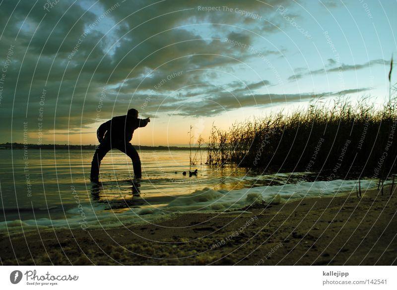 grosse breite II Mensch Himmel Mann Natur Wasser Baum Pflanze Ferien & Urlaub & Reisen Meer Sommer Strand schwarz Ferne Wald Leben Landschaft