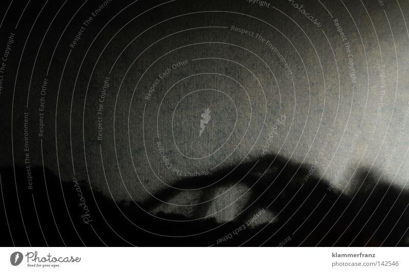 Aus dem Augenwinkel krabbeln Riesenvogelspinne Vogelspinne Theraphosa Monster Spinnenbeine Schatten Silhouette unheimlich beängstigend Textfreiraum oben