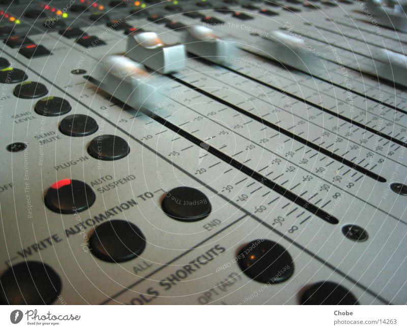 Moving Fader Musikmischpult fade Elektrisches Gerät Technik & Technologie Bewegung Regler Skala Buchse verschoben Diode Lampe Ziffern & Zahlen Anzeige