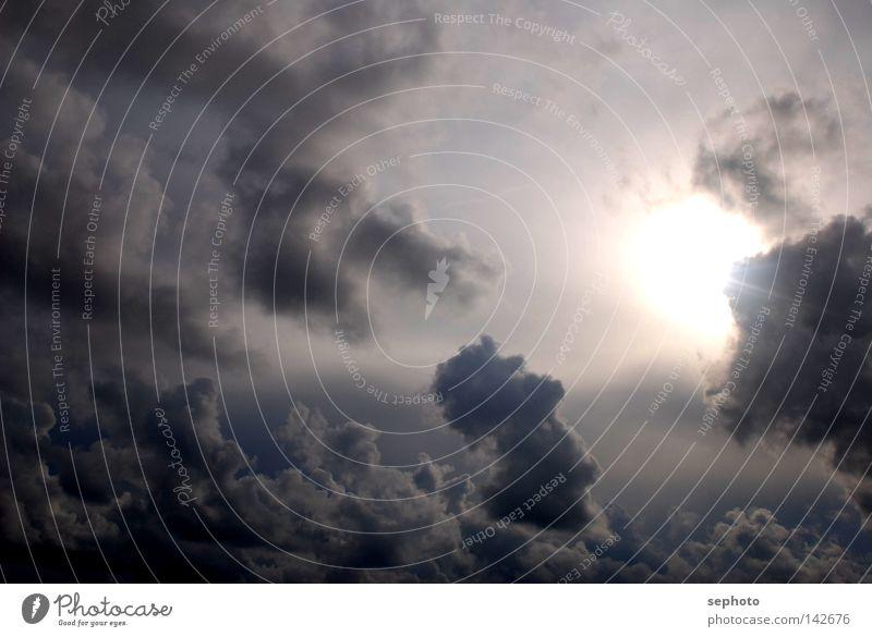 Wolkenspiele Kumulus Stratokumulus Cirrus Nebel Kaltfront Schönes Wetter Altokumulus floccus Trauer Regen ruhig Sturm Leidenschaft grau Herbst Herbststurm