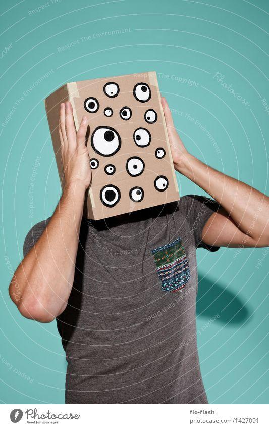 KARTOON • EUGEN jr. II Mensch Jugendliche Mann Erholung Junger Mann 18-30 Jahre Erwachsene Stil Mode maskulin verrückt beobachten lesen Schutz Sicherheit