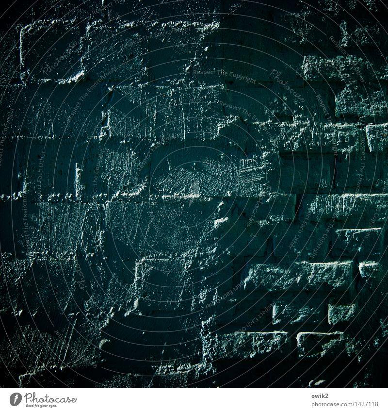 Die Kunst der Fuge ruhig Wand Mauer Stein Zusammensein Fassade Zufriedenheit Ordnung authentisch hoch einfach Zusammenhalt fest Backstein nachhaltig Teamwork