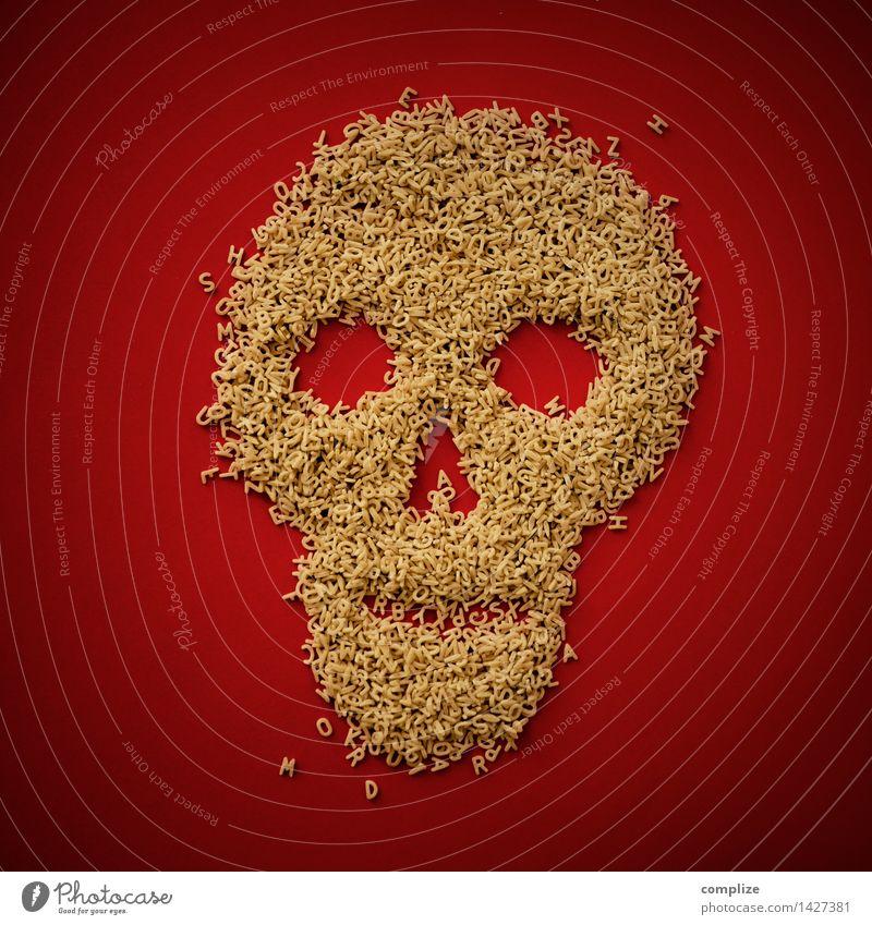 Mordgeschichte Nudeln Buchstabensuppe Buchstabennudeln Ernährung Gesundheit Gesunde Ernährung Krankheit Rauschmittel Wohlgefühl Halloween Trauerfeier Beerdigung
