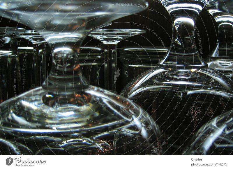 Gläser Glas kalt Dinge Reflektion