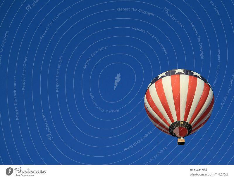 hot air balloon usa Himmel Freizeit & Hobby Luftverkehr USA Amerika Ballone Stars and Stripes