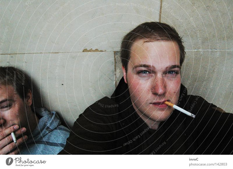 rauchen Mann Erholung Erwachsene Pause Rauchen Stress Zigarette Erschöpfung