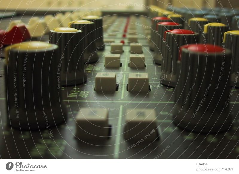 Mischpult Technik & Technologie Knöpfe Musikmischpult Regler Elektrisches Gerät
