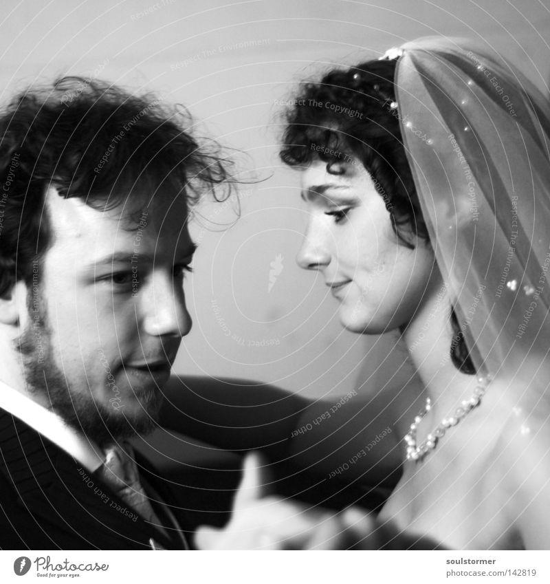 Tanz ins Glück Frau Mann weiß Liebe schwarz Haare & Frisuren Kopf Paar Familie & Verwandtschaft Tanzen Religion & Glaube Zusammensein Feste & Feiern