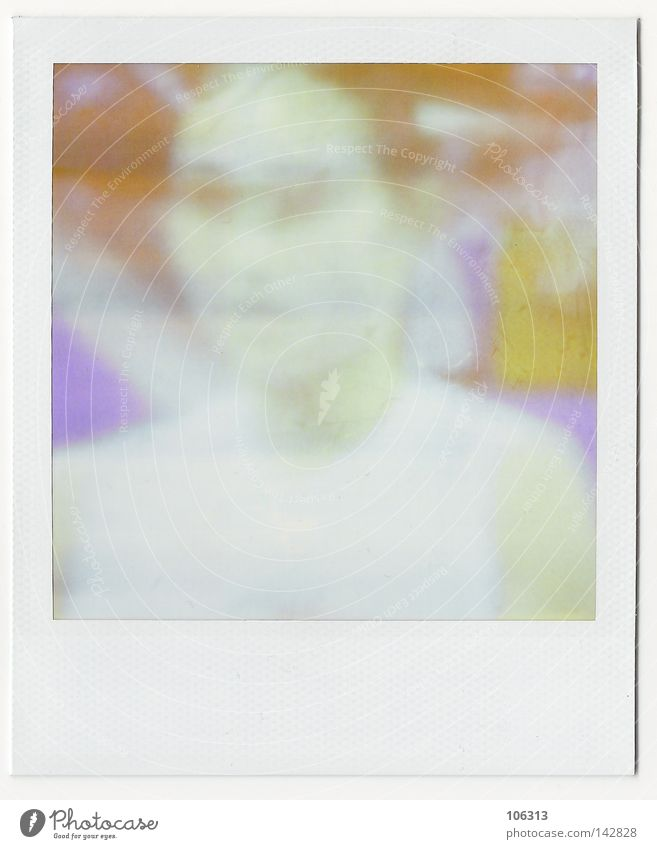 RGBeijing Peking Polaroid Frau China Chinese Farbe Projekt Olympiade Unschärfe Strukturen & Formen entdecken Intuition vermuten unsichtbar Kunst Kultur