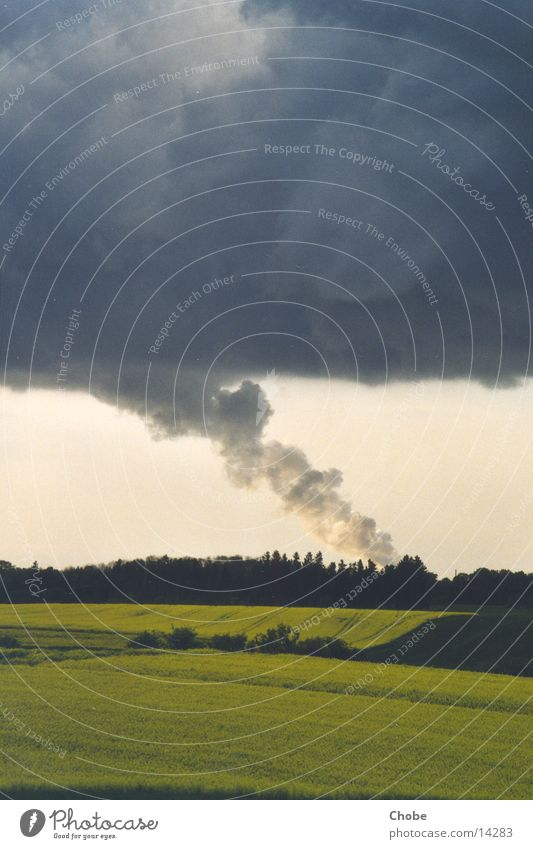 """Tornado"" Himmel Wolken grau Rauch Tornado"