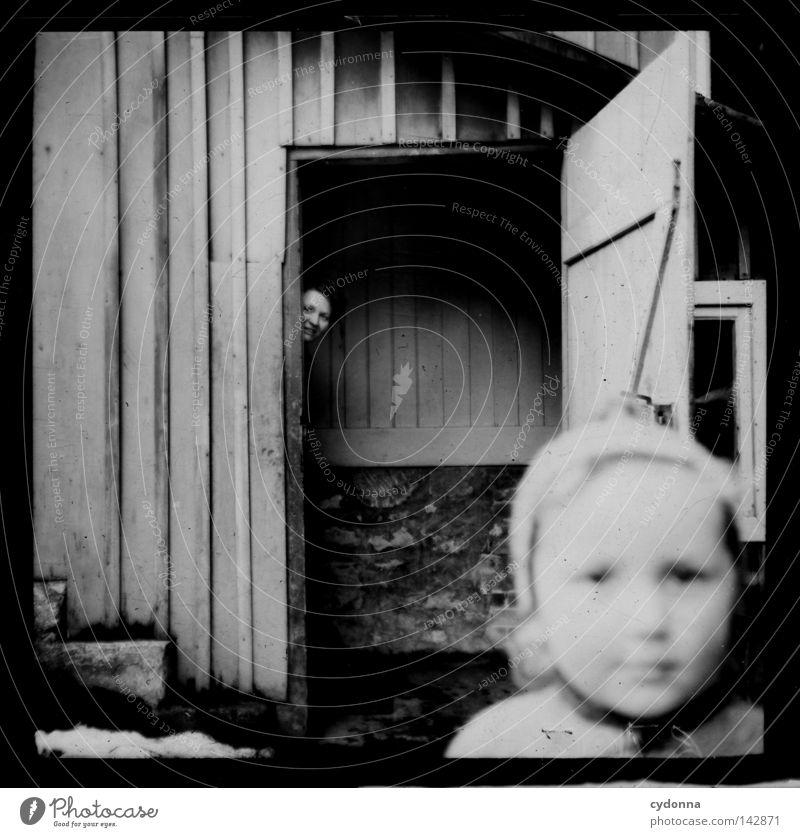 Fotoreisen in die Vergangenheit Mensch Kind alt Freude Gesicht Leben Gefühle Fotografie Zeit Vergänglichkeit verstecken historisch Jahr Sammlung vergangen
