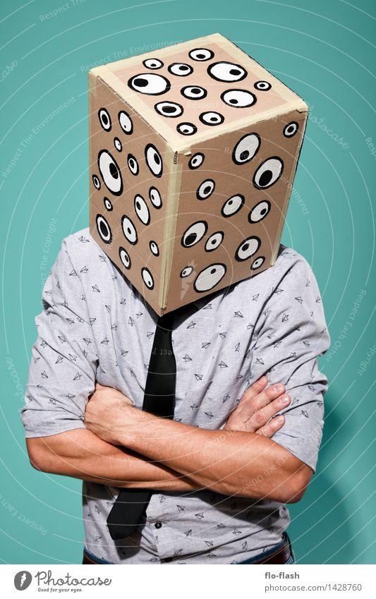 KARTOON • EUGEN II Mensch Jugendliche Mann Junger Mann 18-30 Jahre Erwachsene sprechen Mode Business maskulin lernen beobachten Bildung Student Geldinstitut Maske