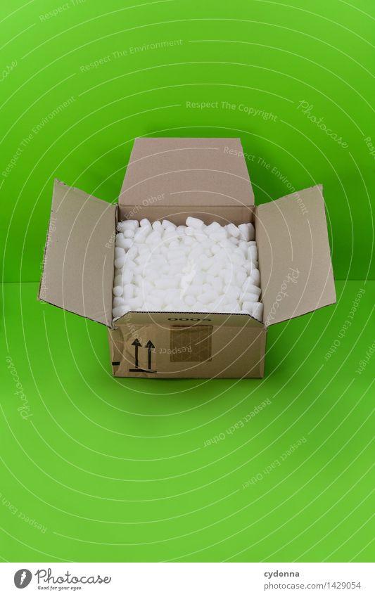 Verpackungsgrundlage grün Farbe Lifestyle Beginn Geschenk Idee kaufen einzigartig planen Hilfsbereitschaft Güterverkehr & Logistik Neugier Schutz Sicherheit