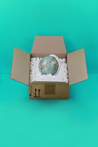 Beiseite packen Farbe Business Erde Erfolg Zukunft kaufen planen Hilfsbereitschaft Güterverkehr & Logistik Schutz Sicherheit Netzwerk Wirtschaft Beratung