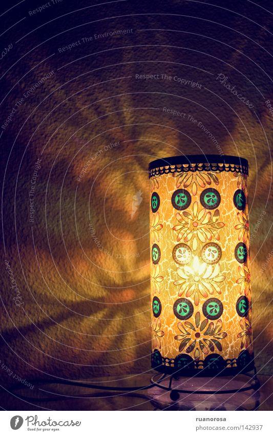 Kaleidoscope Dekoration & Verzierung Blume Blüte Lampe Licht Glühbirne Beleuchtung Farbe gelb erleuchten Blühend Laterne Knolle Lampion