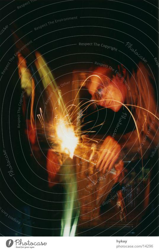 hot de cok Schweißen Brille Physik Nacht Licht Elektrisches Gerät Technik & Technologie Wärme PKW Reaktionen u. Effekte