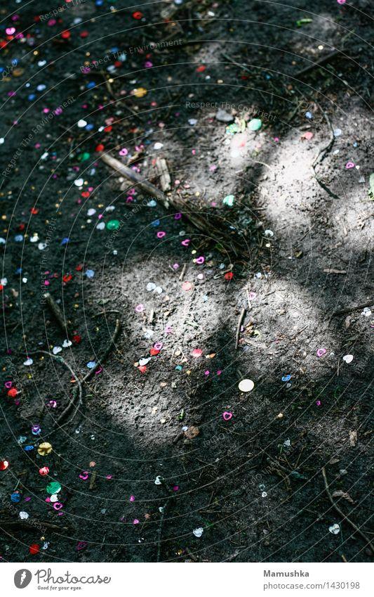 Konfetti Feste & Feiern Karneval Geburtstag Natur Erde Sand Papier Dekoration & Verzierung dreckig Fröhlichkeit Freude Glück Lebensfreude Frühlingsgefühle