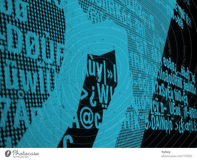 hype the type 2 Stil Wärme Stimmung Raum Freizeit & Hobby Dekoration & Verzierung Physik Typographie Eindruck Dia Projektion Raumeindruck Seidenfabrik