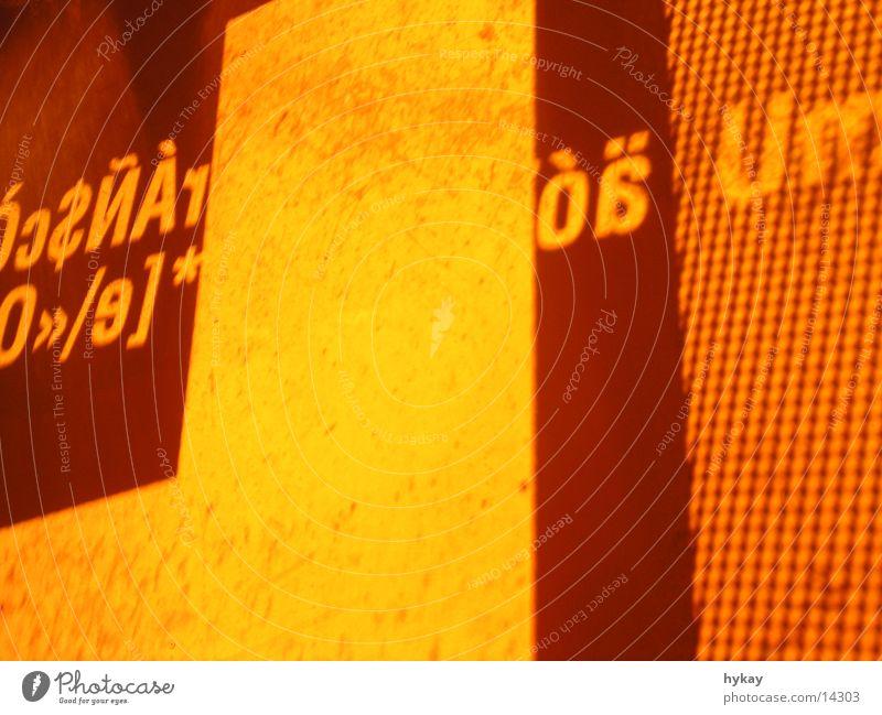 hype the type Licht Typographie Physik Dia Raumeindruck Stil Seidenfabrik Freizeit & Hobby Wärme plastix Dekoration & Verzierung Stimmung Projektion