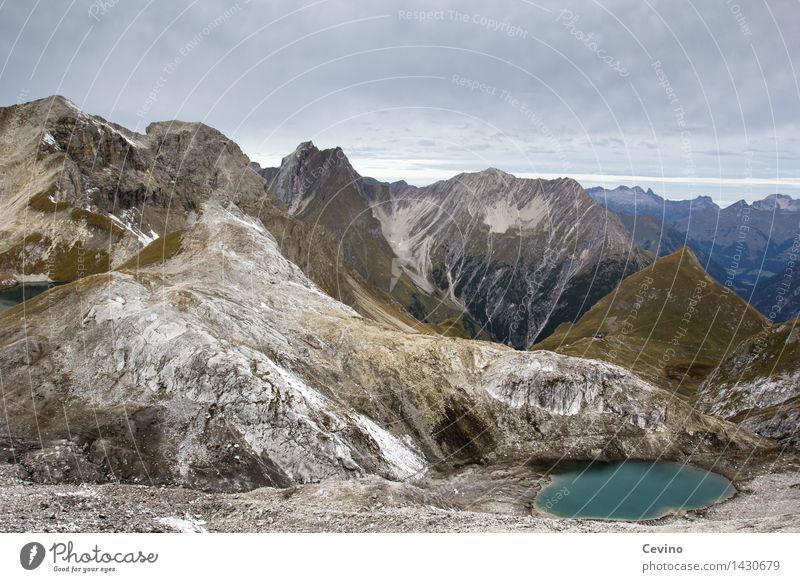 raue Schönheit Freude Ausflug Abenteuer Ferne Freiheit Sommerurlaub Fitness Sport-Training wandern Umwelt Natur Landschaft Himmel Wolken Alpen Berge u. Gebirge
