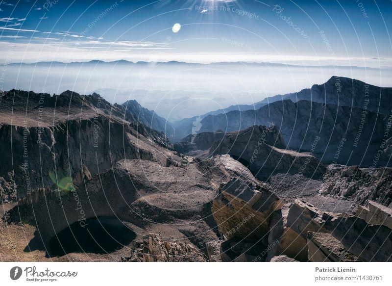 Mt. Whitney Himmel Natur Ferien & Urlaub & Reisen Landschaft Wolken Ferne Berge u. Gebirge Umwelt Leben Freiheit Zufriedenheit Wetter wandern Ausflug Klima