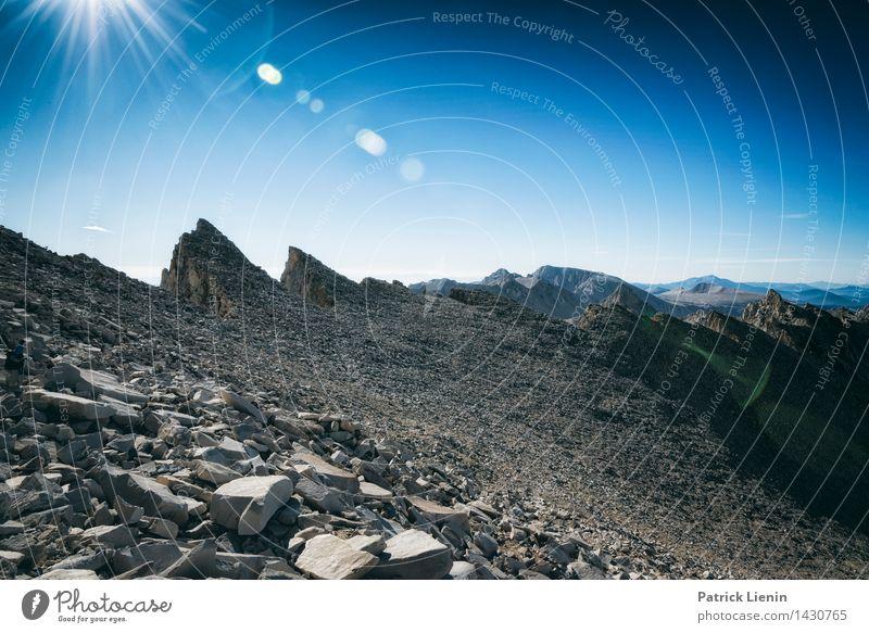 Mt. Whitney Himmel Natur Pflanze Sommer Sonne Landschaft ruhig Ferne Berge u. Gebirge Umwelt Freiheit Tourismus Zufriedenheit Wetter wandern Ausflug