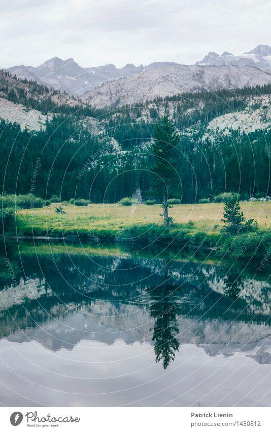 Remember a Day Himmel Natur Pflanze Sommer Wasser Baum Landschaft Wolken Ferne Wald Berge u. Gebirge Umwelt Freiheit Tourismus Wetter Luft