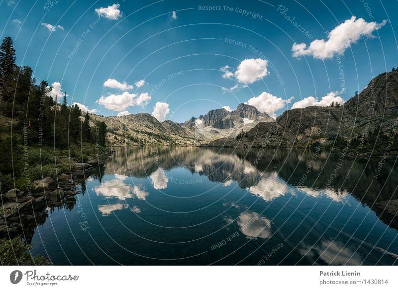 Garnet Lake Himmel Natur Sommer Wasser Landschaft Wolken Ferne Berge u. Gebirge Umwelt Küste Gesundheit Freiheit See Erde Wetter Zufriedenheit
