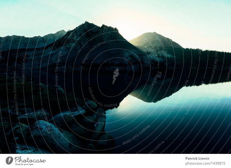 Virginia Lake Himmel Natur Ferien & Urlaub & Reisen Sommer Wasser Landschaft Ferne Wald Berge u. Gebirge Umwelt Leben Freiheit See Felsen Wetter Tourismus