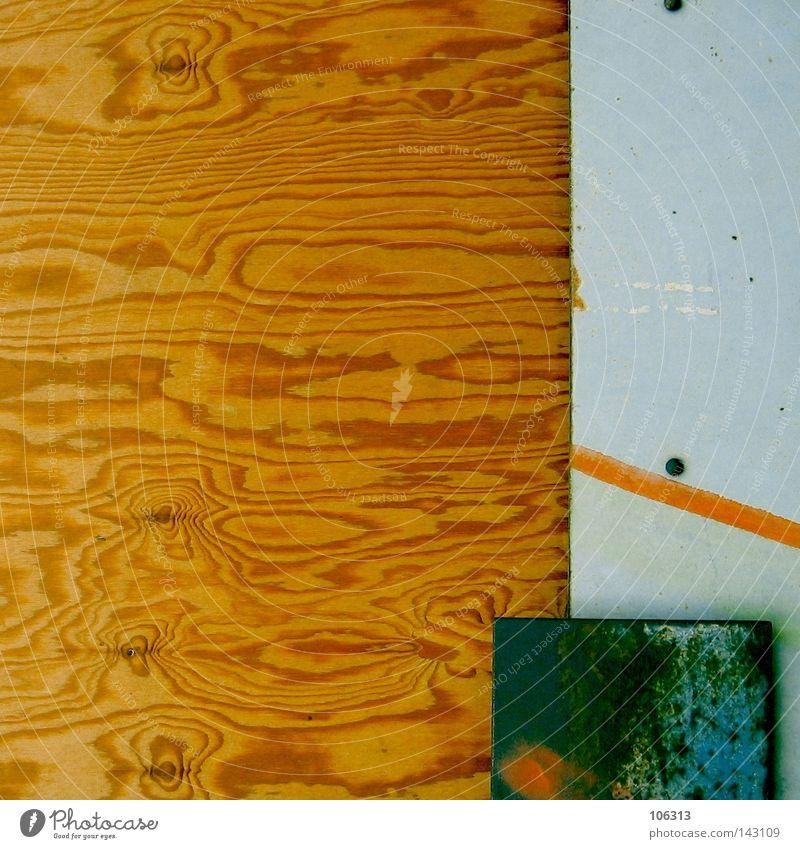 ABGETRENNT alt Farbe Holz Industrie Grenze Teilung Grafik u. Illustration Zaun Material Verschiedenheit Trennung graphisch Maserung Holzstruktur