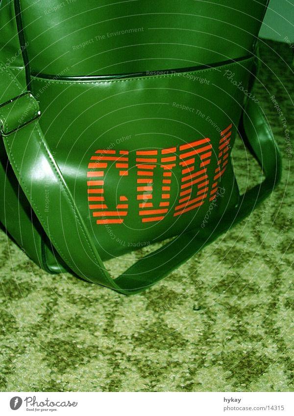 cuba libré grün Teppich Kuba Tasche Muster Freizeit & Hobby Güterverkehr & Logistik