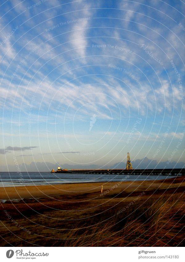 letzte sommertage Natur Himmel Meer Sommer Strand Wolken Herbst Sand Landschaft Küste Ende fallen Vergänglichkeit Jahreszeiten Nordsee Oktober