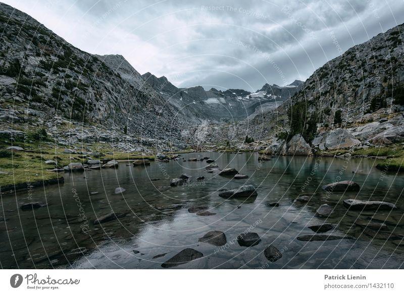 Donohue Pass Himmel Natur Ferien & Urlaub & Reisen Sommer Wasser Landschaft Wolken Ferne Wald Berge u. Gebirge Umwelt Freiheit Regen Zufriedenheit Erde wandern