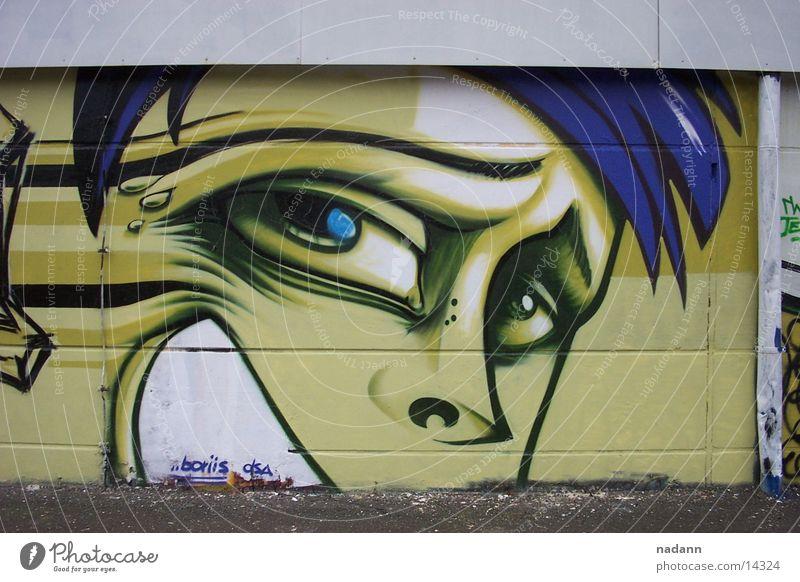 DSA Wand Gemälde Fototechnik Graffiti