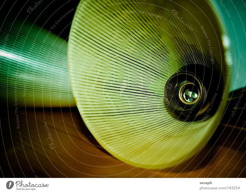 1950´s alt Lampe Stil Glas Design Dekoration & Verzierung Streifen antik gestreift elektronisch altmodisch gebraucht Fünfziger Jahre Lampenschirm