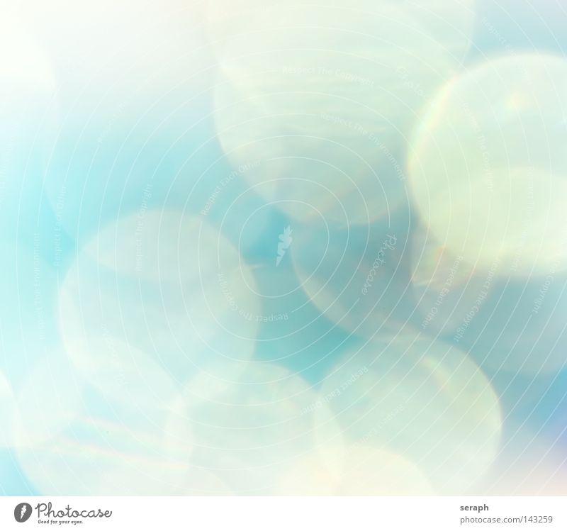 blau grün Farbe rot Freude dunkel gelb Beleuchtung Hintergrundbild glänzend Ordnung Kreis weich rund Punkt Kitsch