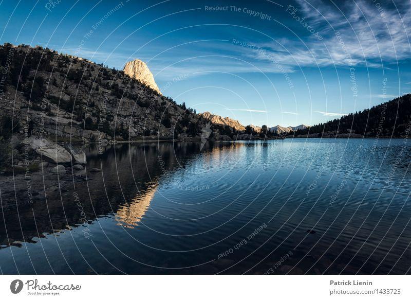 Fin Dome Himmel Natur Sommer Wasser Erholung Landschaft Wolken ruhig Ferne Wald Berge u. Gebirge Umwelt Freiheit See Zufriedenheit Wetter
