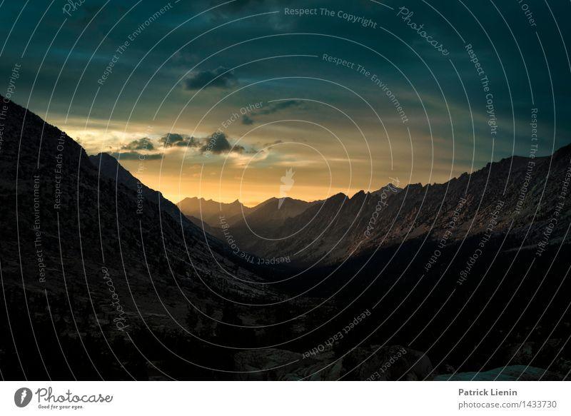 Fernsehen Himmel Natur Ferien & Urlaub & Reisen Sommer Sonne Erholung Landschaft ruhig Ferne Berge u. Gebirge Umwelt Freiheit Tourismus Zufriedenheit Wetter