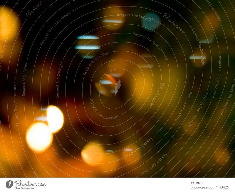 Fantasy blau grün Farbe rot Freude gelb dunkel Beleuchtung Feste & Feiern Hintergrundbild Kunst glänzend Ordnung Kreis weich