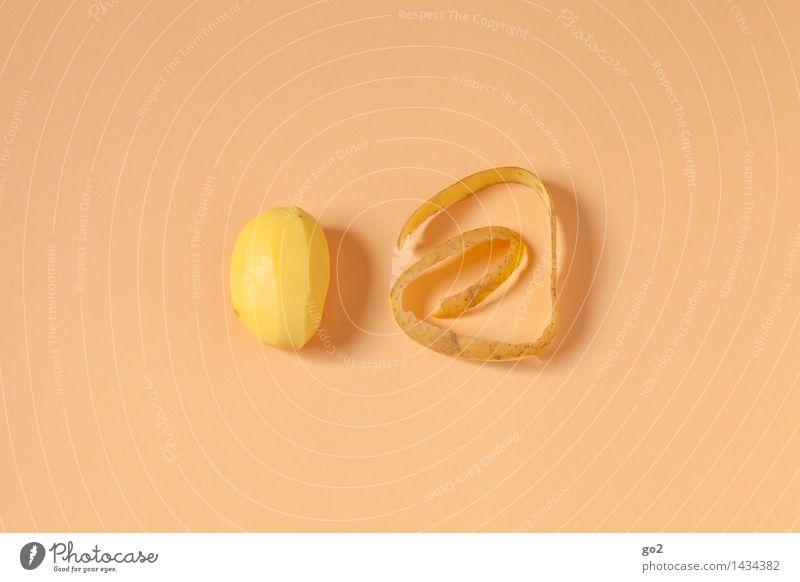 Kartoffel, geschält gelb Essen Gesundheit Lebensmittel braun ästhetisch Ernährung Kochen & Garen & Backen Gemüse lecker Bioprodukte Abendessen Diät