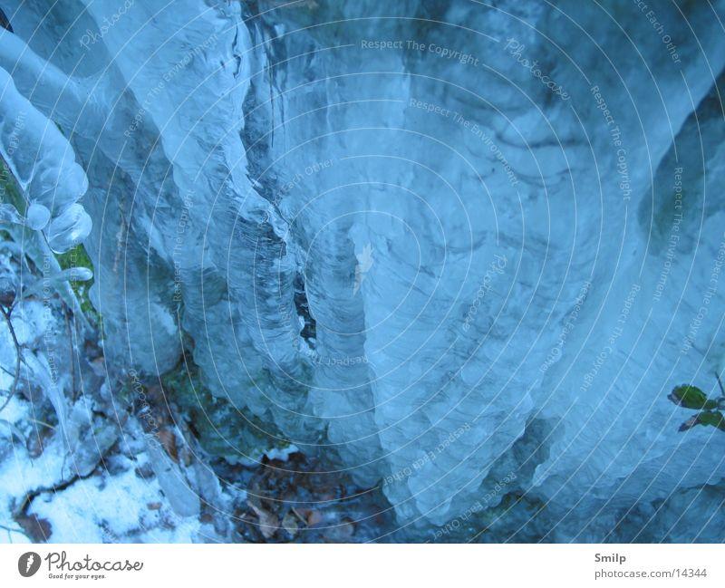 Eiswand Gletscher Natur