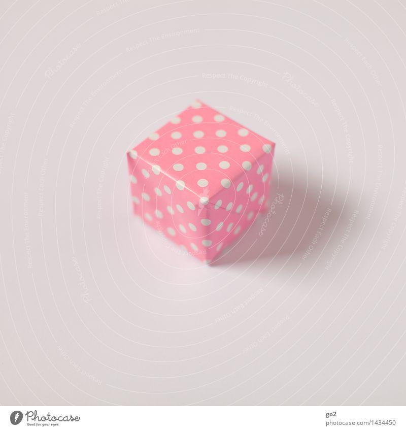 Für Sie kaufen Valentinstag Muttertag Weihnachten & Advent Geburtstag Papier Paket Geschenk Geschenkpapier Verpackung Punkt ästhetisch klein rosa weiß Vorfreude